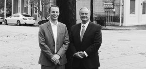 Louisville personal injury attorneys Martin Pohl and Rick Hessig